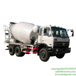 10m3 290HP Cement Transit Mixer 6x4 DongFeng for sale Euro 3, 5,6