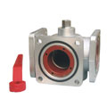Q45F-ZL Aluminum Alloy Three-way Ball Valves