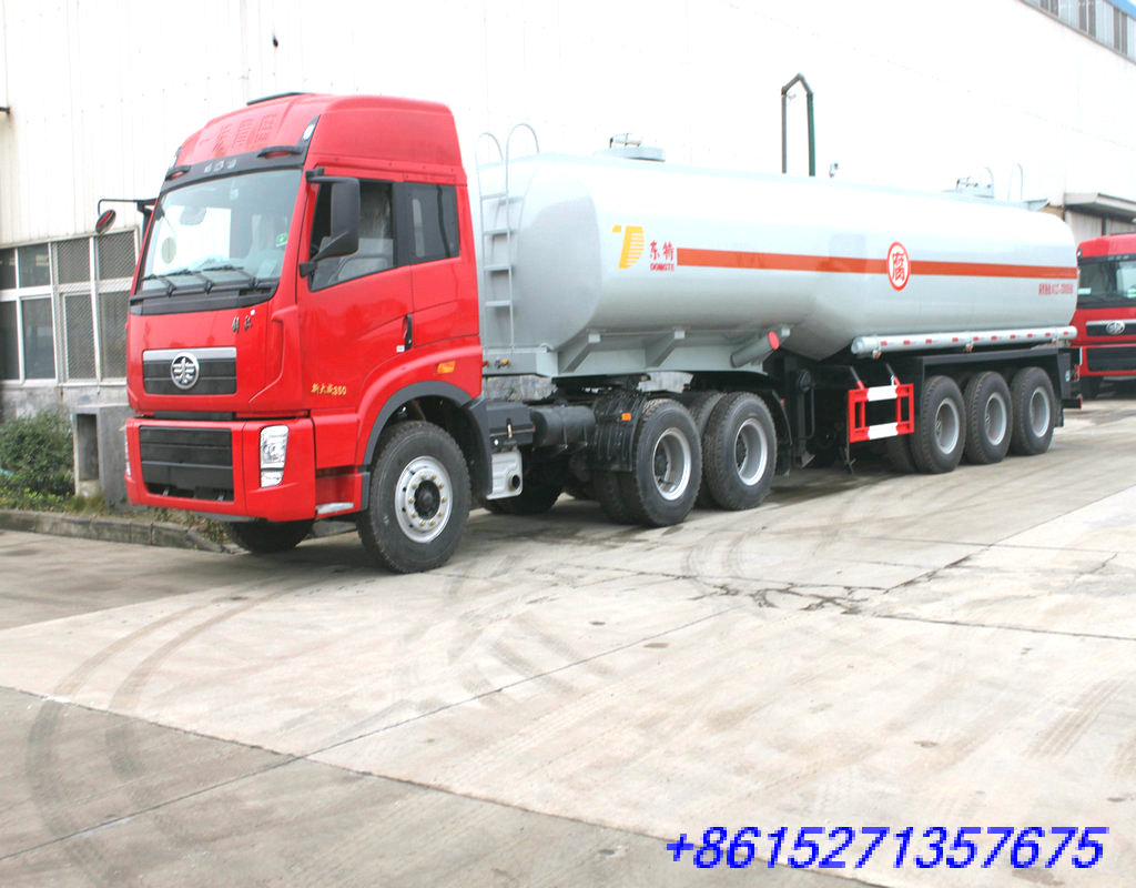 DTA9406GHY Chemical Liquid Tank Semi-trailer for Hexane / N-hexane /C6H14,