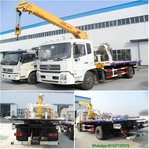 Dongfeng King Run 4*2 Tow & Wrecker with 5T Crane