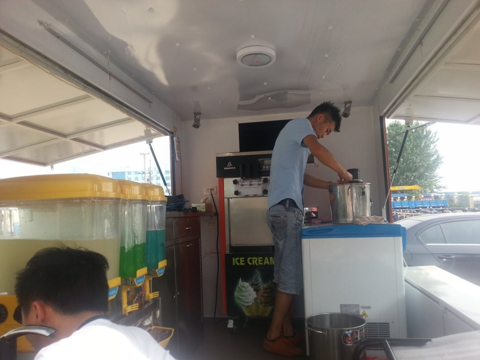 Kerry -Chery Cars for Fast Food/ Cars To Sell Food/ Mobile Kitchen Truck HOT SALE