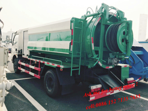 Dongfeng Mini High Pressure Cleaning Truck(4-5m3)