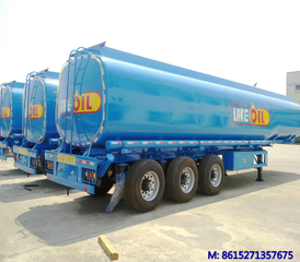 DTA tank trailer with BPW air bag suspention & super single tires 385/60R22.5