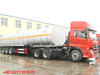 DTA Insulated Crude Oil Tanker Trailer 3axles
