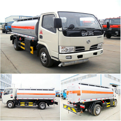 DONGFENG 4X2 SMALL 5CBM OIL TANKER TRUCK