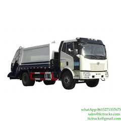 10m3 Rear Load Garbage Truck Euro 4/5