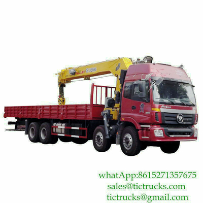 16T Crane Truck Mounted on Foton Chassis 31T GW Euro 3 ,6