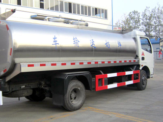 Dongfeng 8CBM Milk Tank Truck Insulated Milk Truck Stainless Steel Tanker