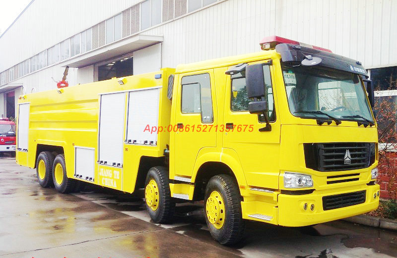 HOWO 8x4 Fire Trucks 20T Water Foam 60L/s ≥55m/1MPa<Customization LHD RHD>