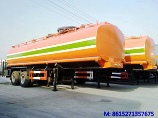 DTA Tank Trailer with Bogie Type Suspention