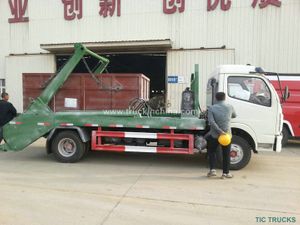 RHD 3~5CBM 4x2 Skip bin Loader vehicle
