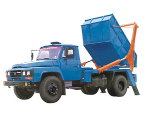 Dongfeng Telescopic Boom Skip Loader (6m3)
