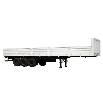 70T 40ft Multi Function Flatbed Side Wall Semi-Trailer for Sale