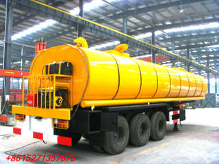DTA bitumen tanker semitrailer 33cbm air suspension