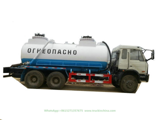 Vacuum Tanker for Oilfiled Wast Slurry Evacuation and Transport (14 CBM -20CBM Cesspit Emptier)