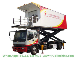 Fvr Allison Automatic Transmission Aviation Aircraft Catering Truck (6HK1 ISUZU Engine Allison 2500 ATM)