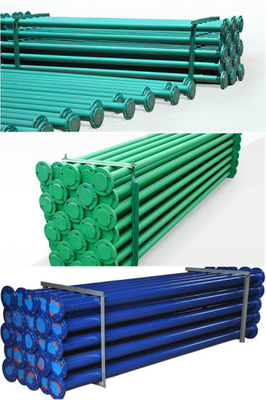 Anticorrosive Steel Lined Plastic PTFE, LLDPE Pipe (Three / 4 Way Elbow Pipe) Use for Sulfuric Acid Hydrochloric Acid HCl, Naoh, Naclo,