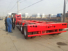 200ton Hydraulic Detachable Gooseneck Lowbed Trailer 6 Axles Front Loading with Removable Dolly Trailer with Detachable Gooseneck