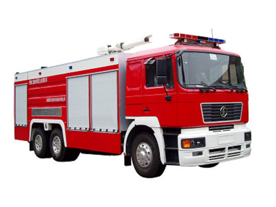 Shacman F2000 All Wheel Drive 6X6 Water Foame 6+1.77 Tank Fire Truck