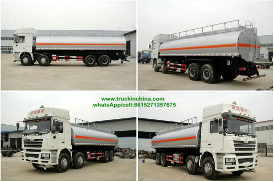 Shacman (4X2, 6X4, 8X4 F2000 F3000 X3000 Oil Bowser) off Road Fuel Tanker Truck for 25m3 -35m3 Oil Diesel, Gasoline