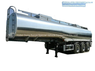 Tri Axles Emulsion Tank Trailer for Liquid Molten Sulfur (Road Tanker) Transport Solution