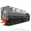 CH3cl ISO Tank Container for Liquid Chloromethane 30FT Container Trailer Road Transport (methyl chloride, chloromethane, CH3Cl) Un1063 Un1912 Gas Pressurized
