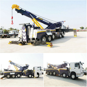 Sino HOWO 5 Axle 60ton Heavy Duty Rotator Road Wrecker Zz5507n31b7d1