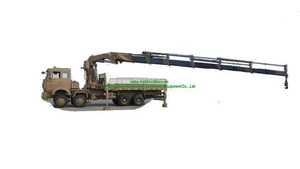 8X8 Beiben (North. Benz) Offroad Trucks Mounted Knuckle Crane Hydraulic Loading 30t, 45t, LHD. Rhd Optional Flat Deck