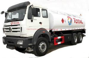 Beiben Fuel Bowser for Petroleum Oil, Gasoline, Petrol, Diesel Transportation with Pto Pump 25, 000L 12 Wheels (Diesel Bowser)