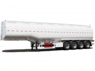 Steel Fuel Tanker Semi-Trailer 4 Axles Tank Capacity 55000L to 72000L (Crude Oil, Diesel, Gasoline)