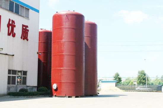 Custermizing 1~135 M3 Checmial Acid Storage Tank PE Lined Tank Used to Contain: HCl (max 35%) , Naoh (max 50%) , Naclo (max 10%) , PAC (max 17%) , H2so4 etc