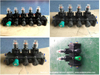 Plastic Pneumatic Control Block Valves for Fuel Tanker (Road Tanker Truck YOJE Pneumatic Control Unit 1-7 Compartments)