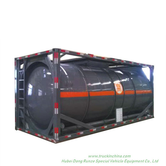 Trichlorosilane (SiHCl3) Isotank 20FT Tank Container Frame Trichlorosilane, Silicochloroform (Chemical Storage or Road Transport Tank)