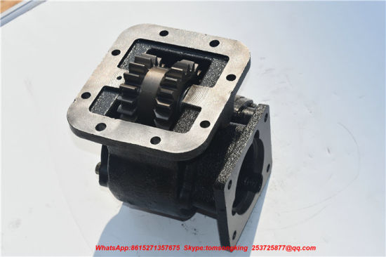 Fast 8js85e Gearbox QD40A PTO (Original China Tanker Truck Factory Transmission PTO Crane Truck PTO Assembly)
