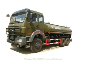 Beiben off Road Tanker Fuel Tank Truck
