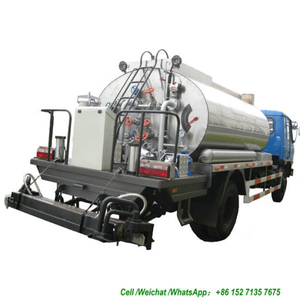 Road Construction Intelligent Asphalt Distributor 5000 Liter to 6000 Liters