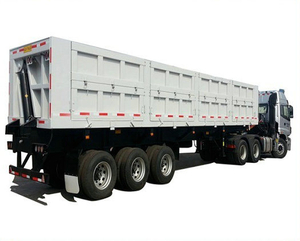 Hot Sale Heavy-Duty Dump Tipper Semi Trailer 50t -80ton
