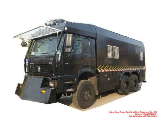 HOWO 6X6 Anti Riot Water Cannon Truck (Police Water Cannon Truck)