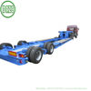 50 Ton Gooseneck 2 Axle Lowboy Hydraulic Suspension Modular Low Bed Truck Trailer