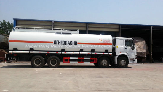 Sinotruck HOWO Tanker Truck with Insulation Layer for Heat Bitumen, Liquid Asphalt, Coal Tar Oil, Crude Oil Transport 26, 000L-33, 000liters 12wheels