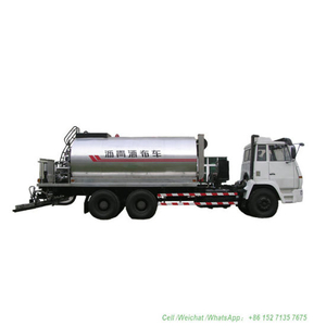 Shacman Asphalt Distributor 12t (Intelligent Asphalt Distributor Nozzles 30 Nos Asphalt Tank 8000-12000L Insulated Spray Bitumen 4.5 -6 meters))