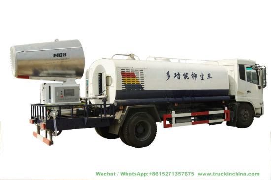 Pm2.5 Mine Dust Control Water Tanker Mounted with 80m -100m TDM Fogging Spray Machine