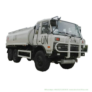 Dongfeng 6X6 off Road Military Oil Tanker Bowser with Oil Pump Fuel Dispenser for Sale