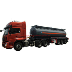 Sodium Hydroxide Tank Semi-Trailer 3 Axles 20000liters, 32000liters Steel Tank Lined LLDPE
