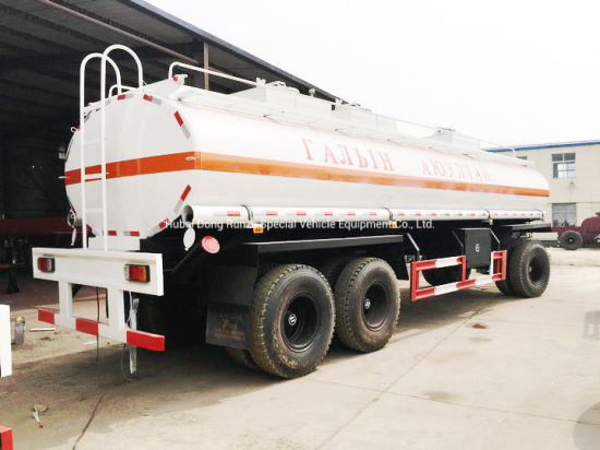 Full Tank Trailer with Draw Bar Dolly 2-3 Axles for Fuel, Water, Oil, Diesel Fuel Trailer Pup Tanker