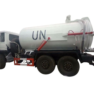 Dongfeng 6X6 off Road Military All Wheel Drive Vacuum Sewage Tank Truck Factory 12cbm