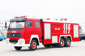 Sinotruk Steyr King Fire Fighting Truck/ Fire Engine Truck with 8.5+2.66cbm Water Foamtank