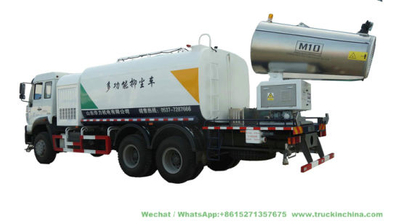 Custmoizing Pesticides Sprayer Truck 120m Mist Spray Tanker Truck (TDM Fogging Spray Remote Controller)