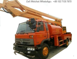 Aerial Work Platform Truck Mounted with Water Clean Tank (16m Bucket Lift, 4000L Water Tank)
