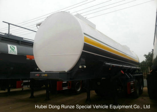 Hydrofluoric Acid Tanker with Dual Bogie Axle (single point suspension) Steel Lined LDPE 22 -27cbm Tank